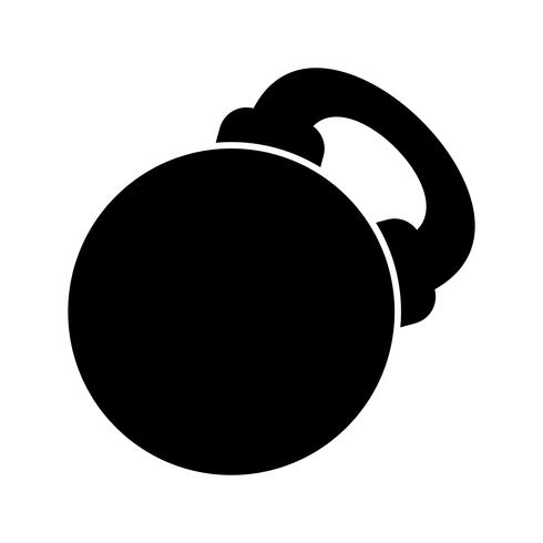 Vector Kettlebell pictogram
