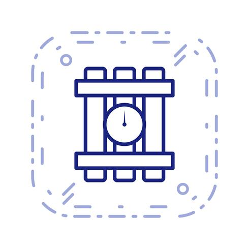 dynamiet vector pictogram