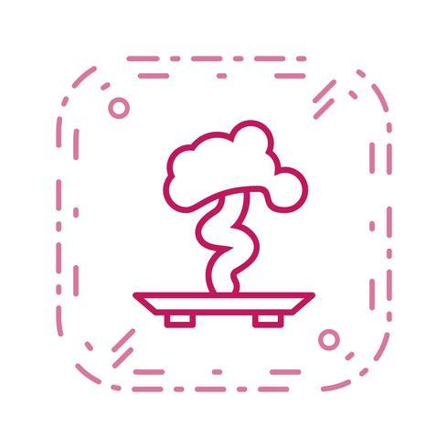 icône de vecteur bonsaï