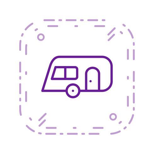 caravan vector pictogram