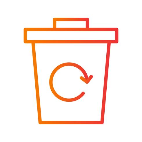 Garbage Recycle Vector Icon Download Free Vectors Clipart
