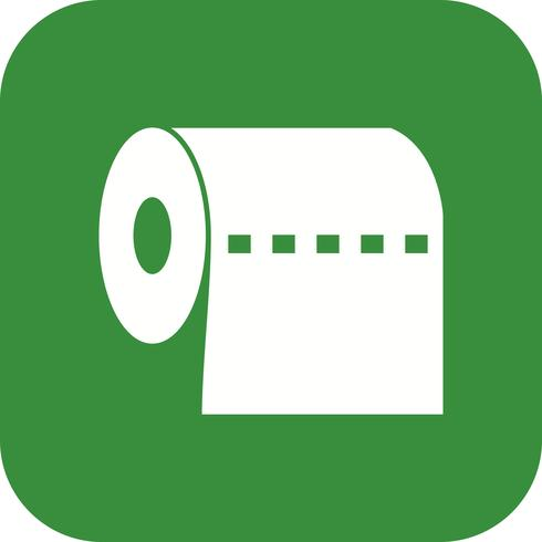 Toilet Paper Vector Icon