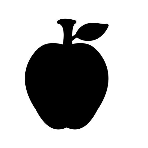 Vektor-Apple-Symbol
