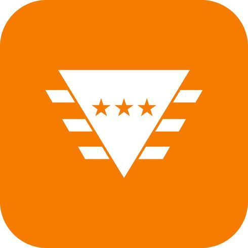 Abzeichen Vektor Icon