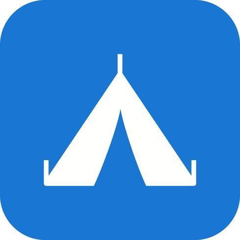 Tent Vector pictogram
