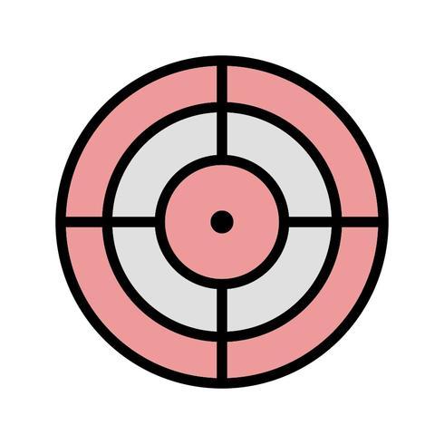 mål vektor ikon