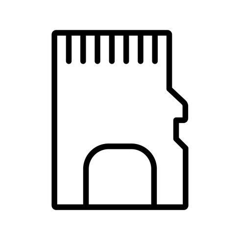 Geheugenkaart Vector Icon