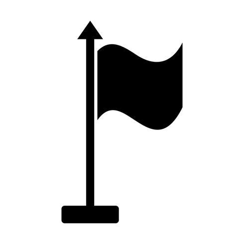 Icona di vettore della bandiera