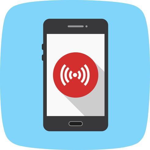 Ícone de vetor de aplicativo móvel de ponto de acesso