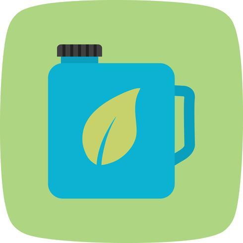 Öko-Öl-Vektor-Symbol