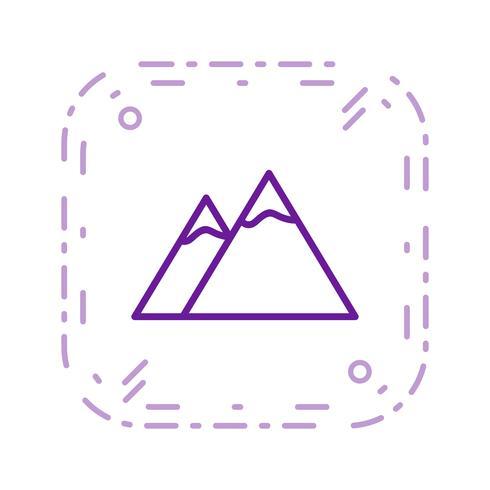berg vektor ikon