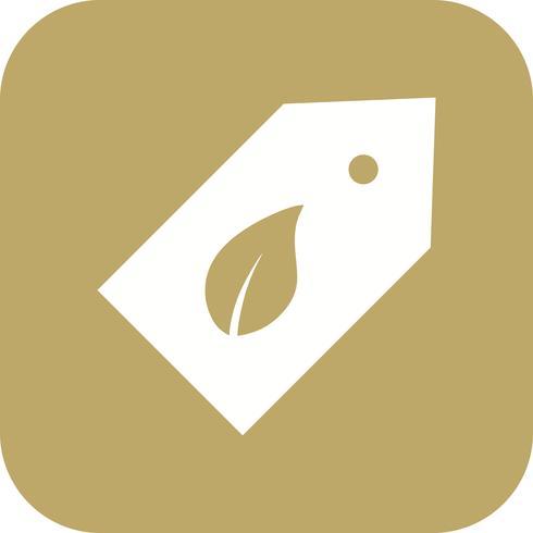 Eco-label Vector Icon