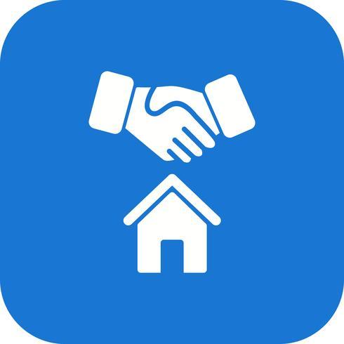 Huis Deal Vector Icon