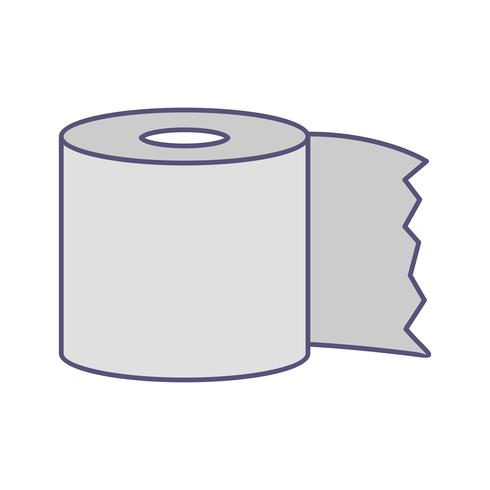 Toalettpapper Vector Icon