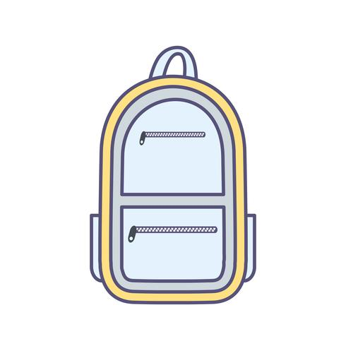 Icona di vettore della borsa