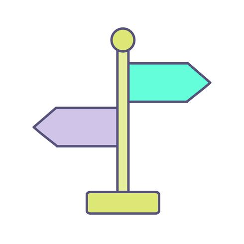 Direction Vector Icon