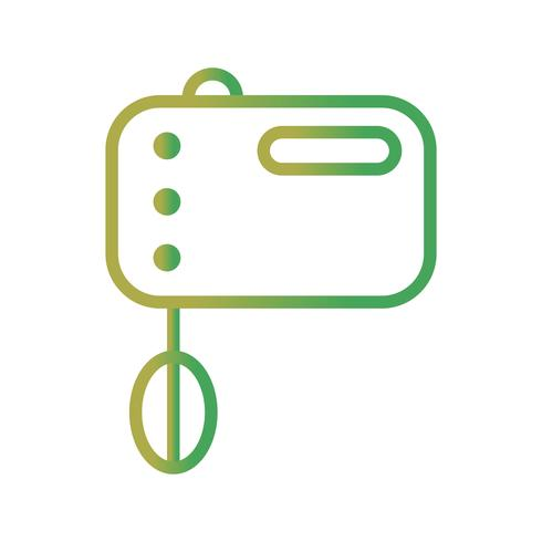 Icono de Vector de mezclador de alimentos