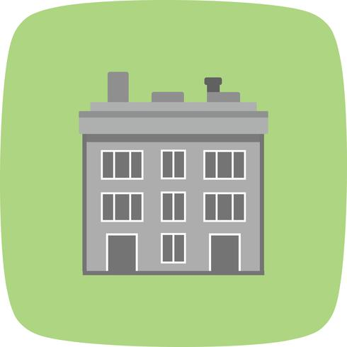 Icono de Vector de edificio