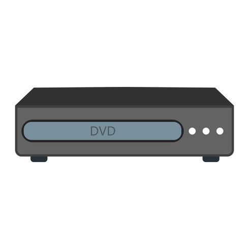 Ícone de vetor de dvd player