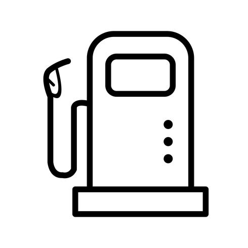Fuel Station Vector Icon