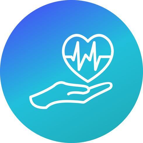 Icona di vettore di salute