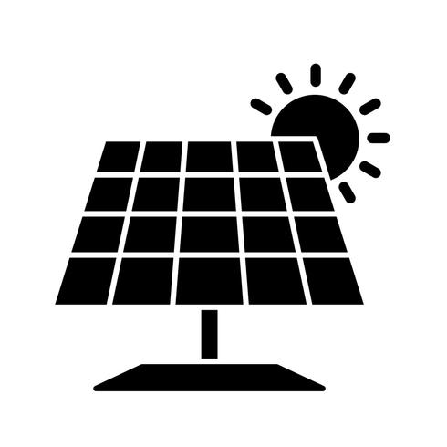 Zonnepaneel Vector Icon