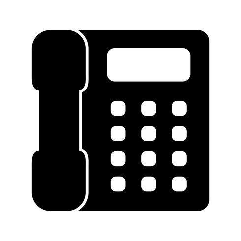 Telephone Vector Icon