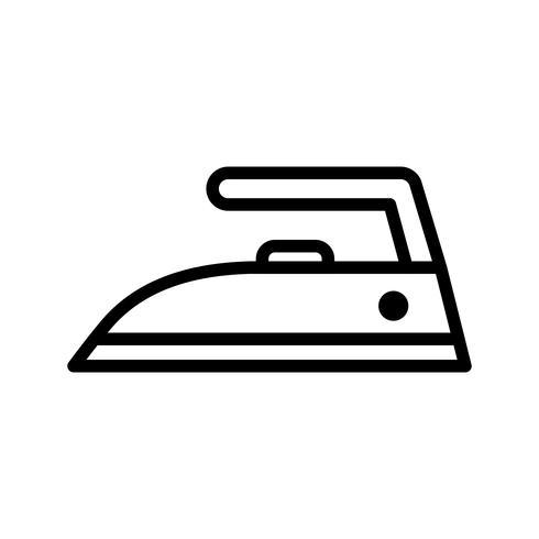 Icône de vecteur de fer