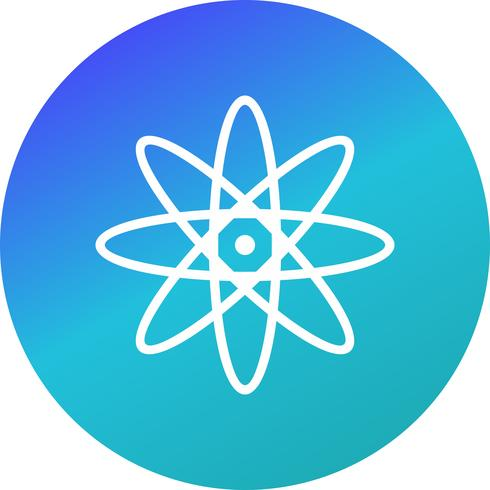Ícone de átomo de vetor