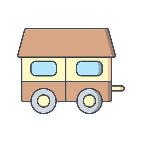 Mobiles Haus Vektor Icon