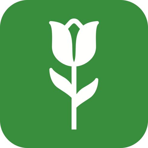 Tulpen-Vektor-Symbol