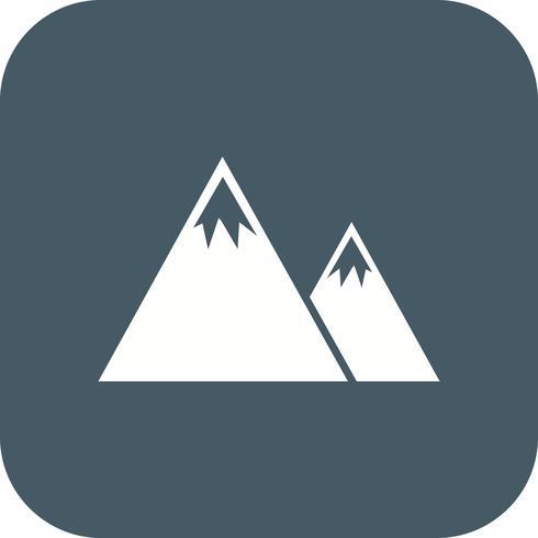 Icono de Vector de montañas