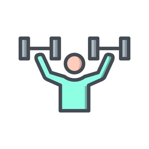 Vector icono de ejercicio