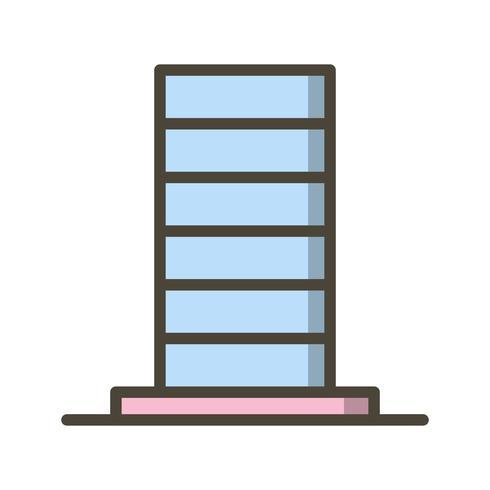 Skycraper-Vektor-Symbol