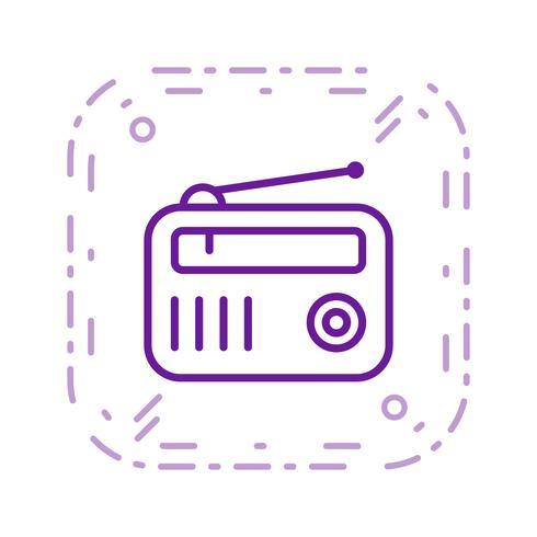 radio vector pictogram