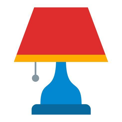 icono de vector de lámpara