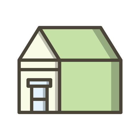 Mansion Vector Icon