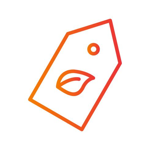 icône de vecteur éco label