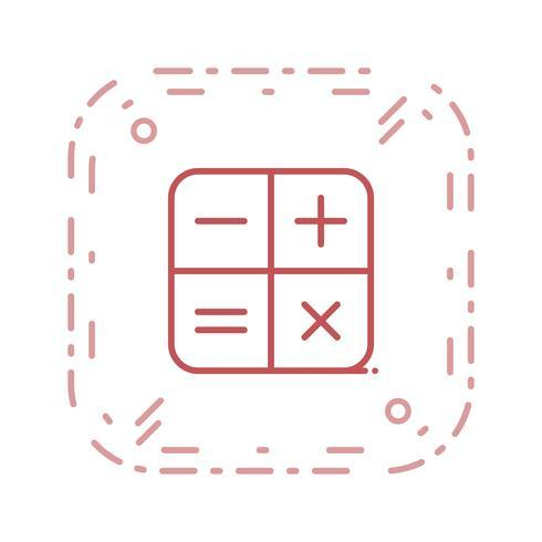 Vektor-Rechner-Symbol