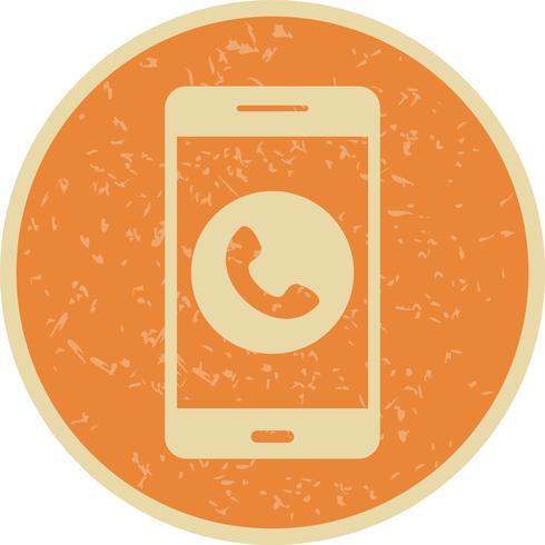 Rufen Sie mobile Anwendungssymbol