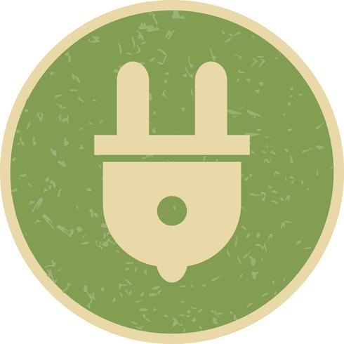 Conecte o ícone do vetor