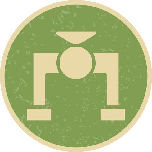 Ícone de vetor de válvula