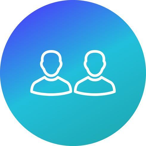 Personnes Vector Icon