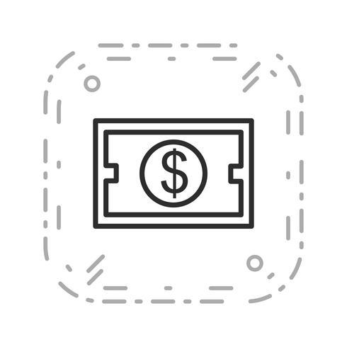 Icône de vecteur d'investissement