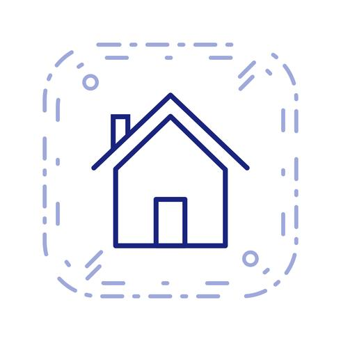 Icona di vettore della casa