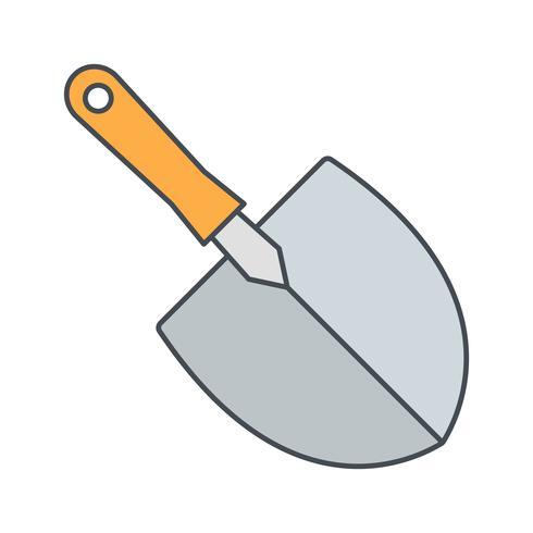 Trowel Vector Icon