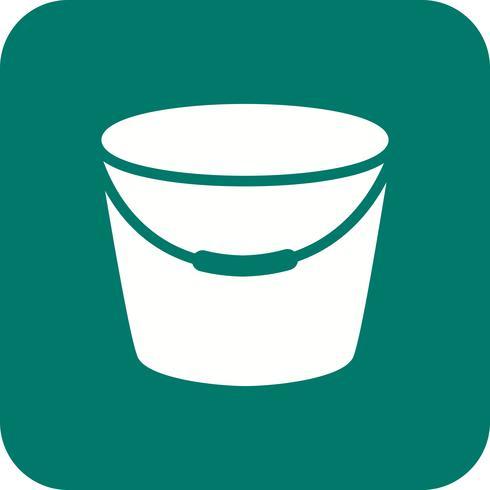 Bucket Vector Icon