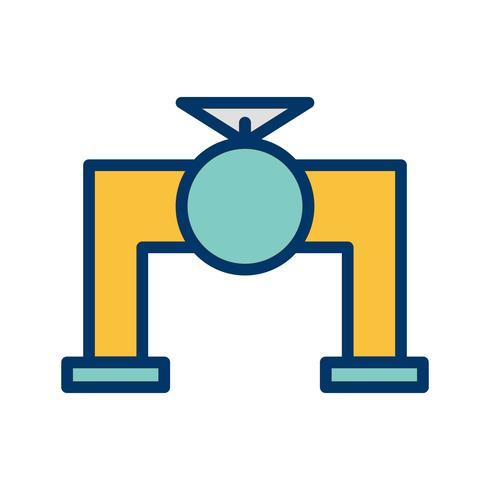 Icona di vettore della valvola