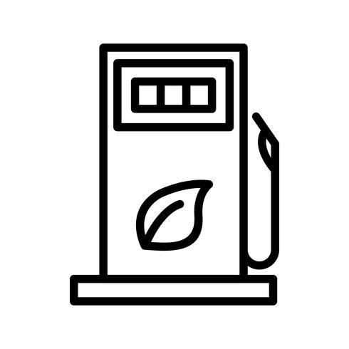 Icona di vettore del gas
