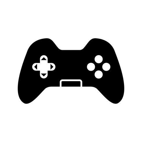 control pad vector pictogram